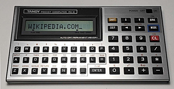Tandy Pocket Computer