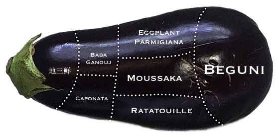 Structure and function of the eggplant